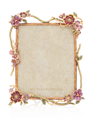 Floral Branch Picture Frame, 8