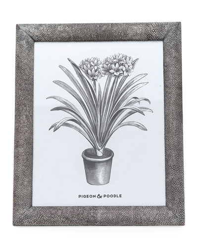 Oxford Faux-Shagreen Picture Frame  8 x 10