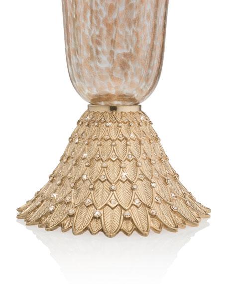 Composition Feather Vase