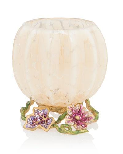 Flora Leaf and Vine Candle Holder