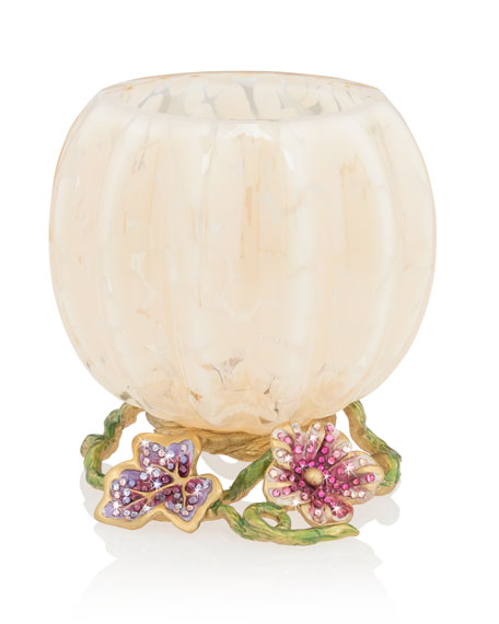Flora Leaf and Vine Candle Holder