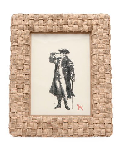 Genova Natural Rope Picture Frame  5 x 7