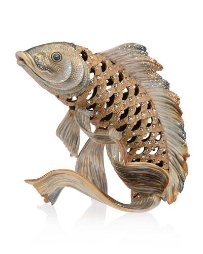 Koi Fish Figurine