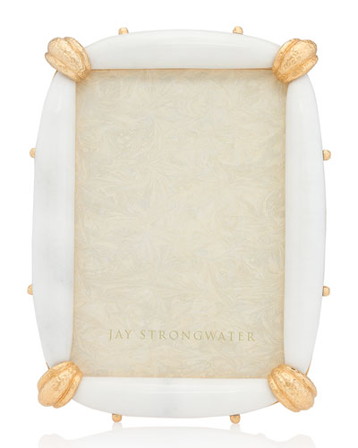 White Marble Picture Frame, 5