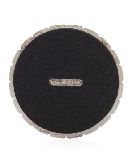 Jeweled Edge Coasters, Set of 4