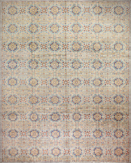 Ayden One-of-a-Kind Hand-Knotted Rug, 9' x 11.9'