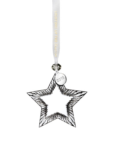 2018 Star Christmas Ornament
