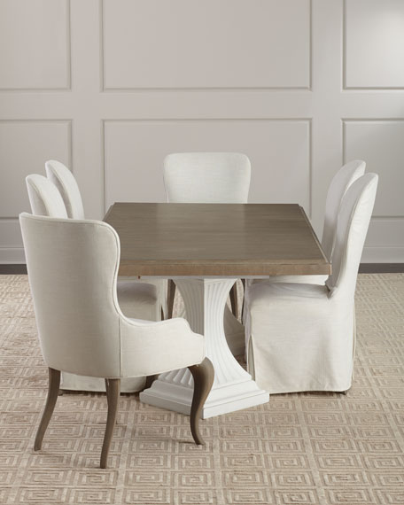 Eleri Double Pedestal Dining Table