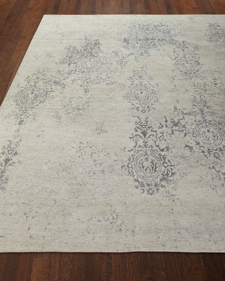 Minette Hand-Knotted Rug, 3.9' x 5.9'