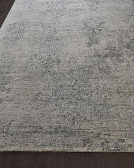 Minette Hand-Knotted Rug, 7.9' x 9.9'