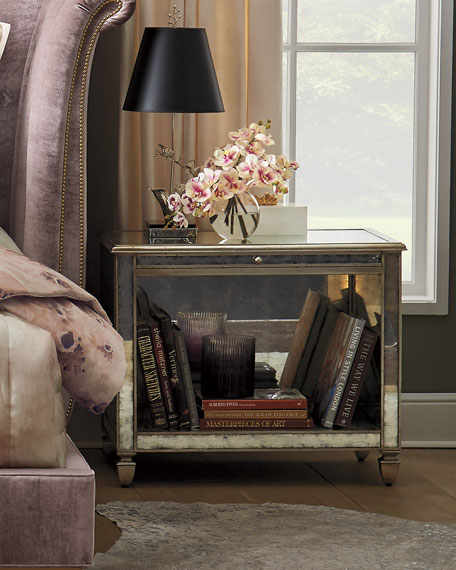 Nocturne Eglomise Night Stand
