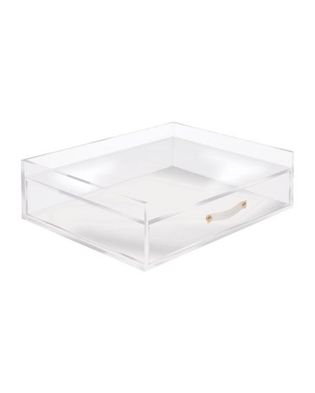 Acrylic Medium Solution Desk Organizer