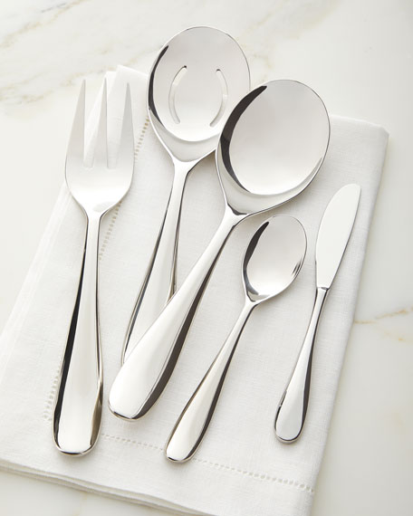 Paige 45-Piece Stainless Steel Flatware Set