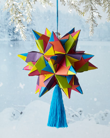 Bascetta Star Christmas Ornament