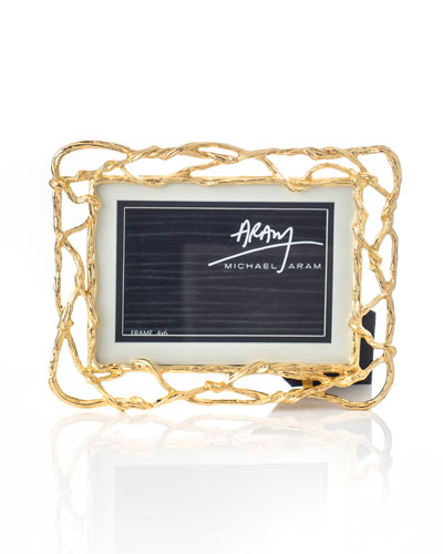 Wisteria Gold Frame  5 x 7