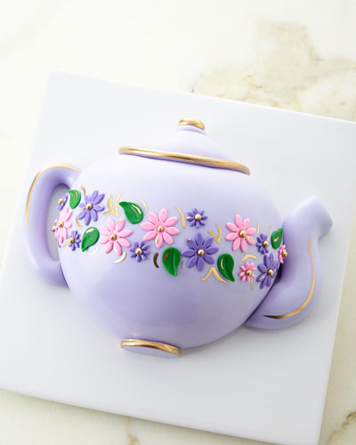 Early Grey Lavender Teapot Cake