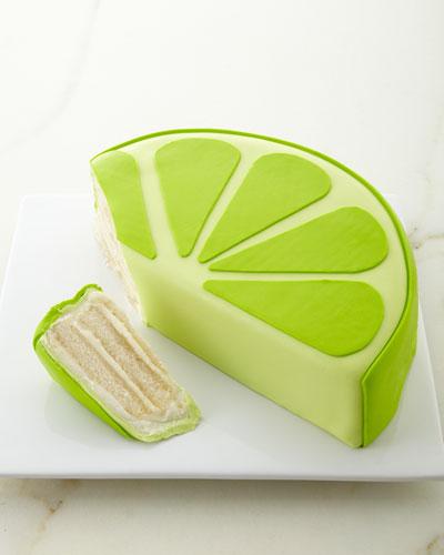 Margarita Lime Slice Cake