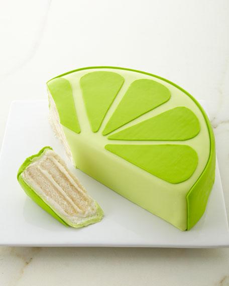 Frosted Art Bakery Margarita Lime Slice Cake