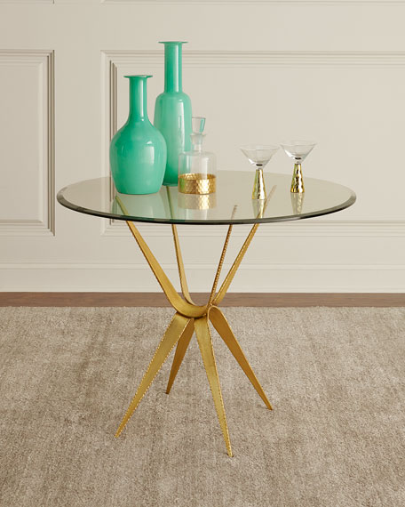 Benn Sculptured Base Entry Table