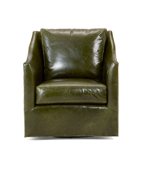 Renee Leather Accent Chair