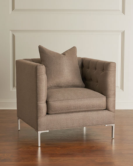 Dale Tufted Accent Chair