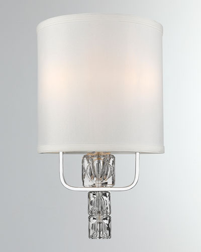 Addison 2-Light Polished Chrome Sconce