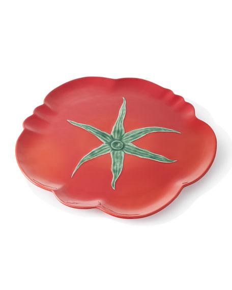 """Tomato Pizza Plate, 16.5"""""""