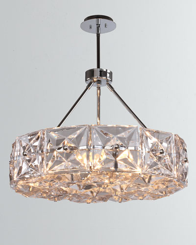 Collins 6-Light Polished Chrome Chandelier