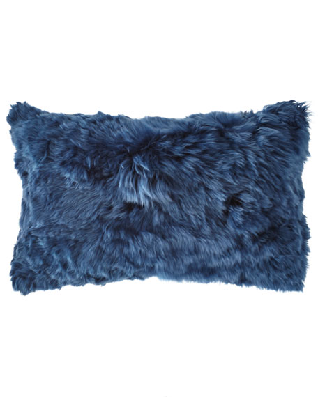 Aviva Stanoff Suri Alpaca Rectangular Pillow