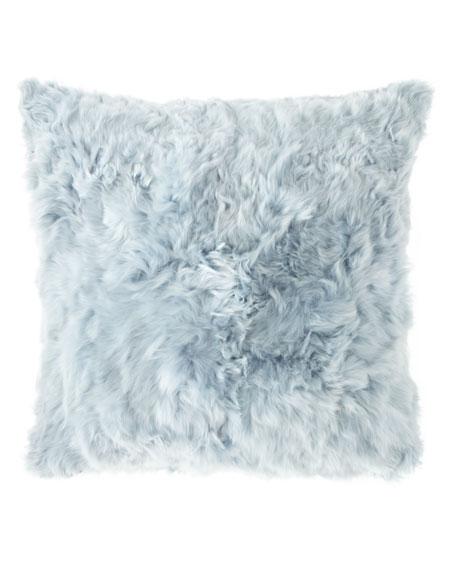 Aviva Stanoff Suri Alpaca Square Pillow