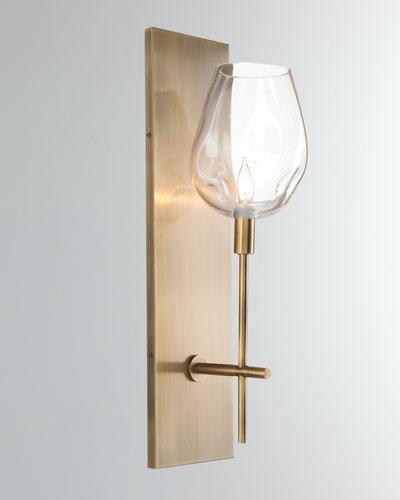 Glass Globe Wall Sconce