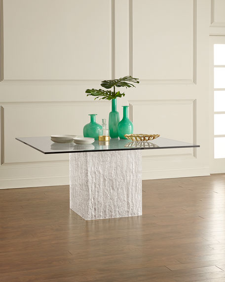 Bernhardt Arctic Square Dining Table