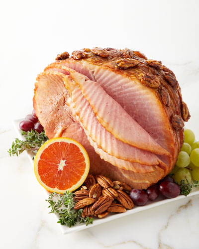 Spiral Sliced Bourbon Pecan Ham  For 10-12 People