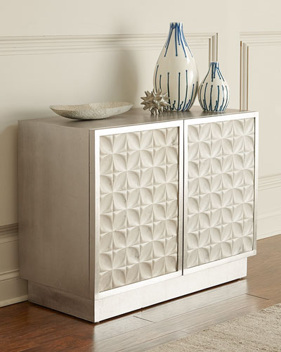Greyville Chest with Patterned Marble