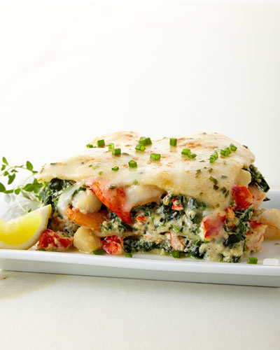 Lobster, Shrimp & Scallop Lasagna