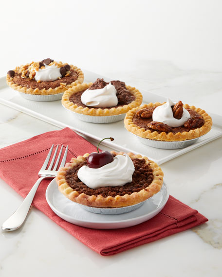 Chocolate Lovers Pies, Set of 4
