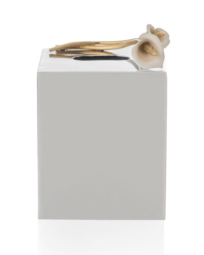 Calla Lily Tissue Box Holder