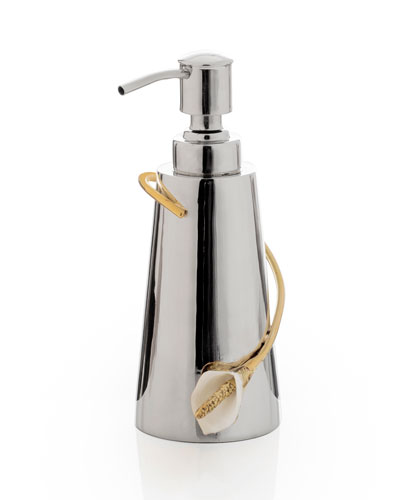 Calla Lily Soap Dispenser