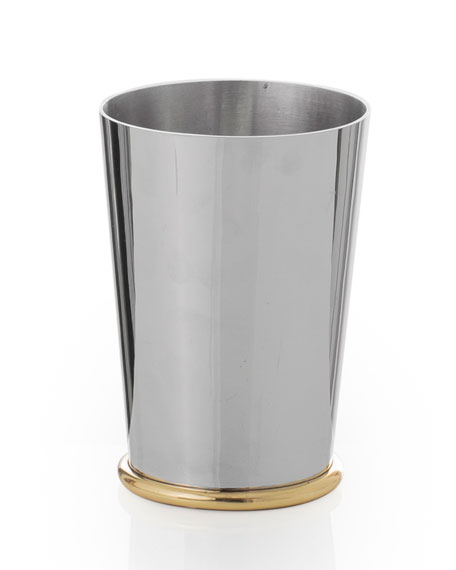Calla Lily Metal Toothbrush Holder