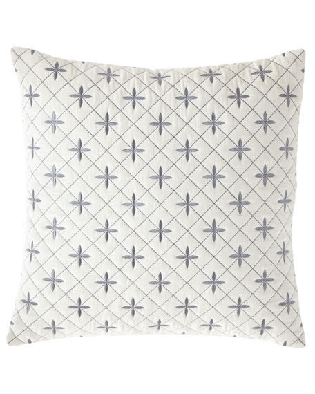 Darboux Embroidered Velvet Decorative Pillow
