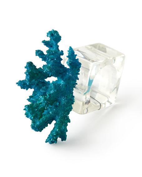 Kim Seybert Reef Napkin Rings, Set of 4