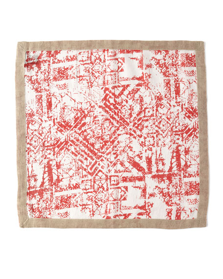 Distressed Linen Napkin