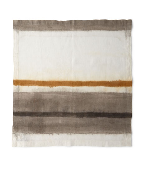 Kim Seybert Horizon Dyed Ombre Linen Napkin