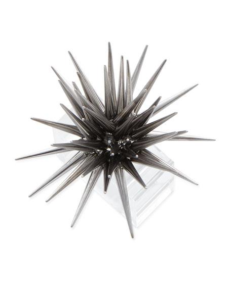 Kim Seybert Astrid Starburst Napkin Ring, Gunmetal