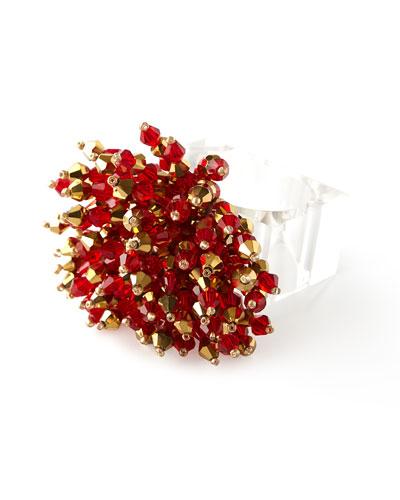 Brilliant Napkin Ring - Red