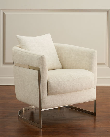 Downing Curved Accent Chair