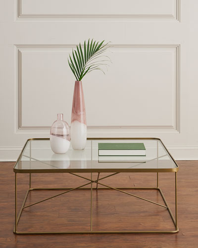 40 Metal Square Coffee Tables: Marble & Mirrored Coffee Tables At Neiman Marcus Horchow