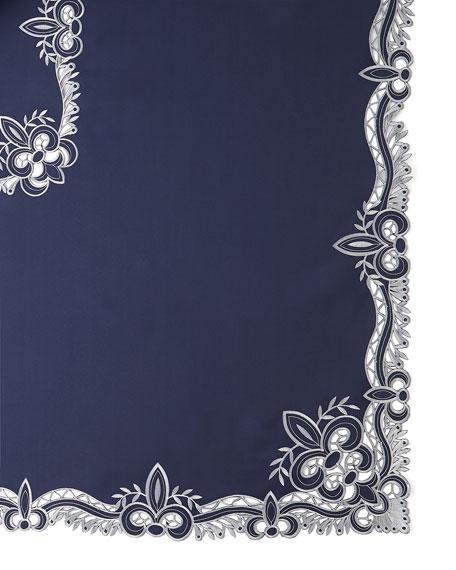 "Ellino 72"" x 108"" Tablecloth & 12 Napkins"