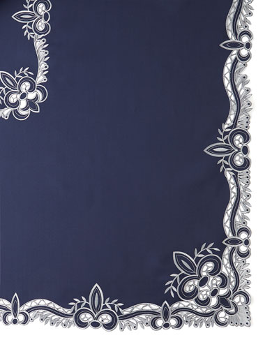 Ellino 72 x 90 Tablecloth & 8 Napkins