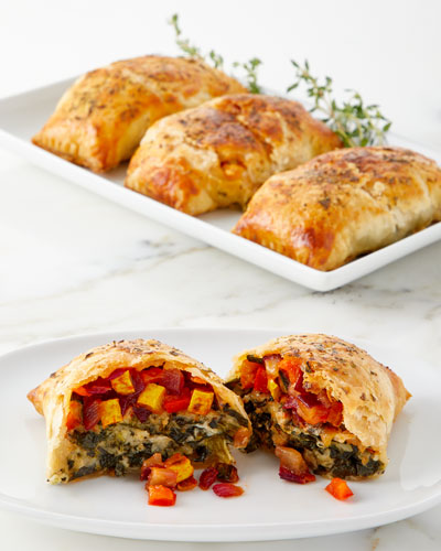 Vegetable Wellingtons, Set of 4